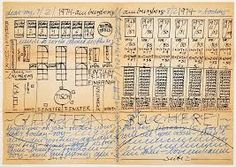 hanne darboven - Google Search