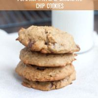 Browned Butter Pumpkin Oatmeal Chocolate Chip Cookies