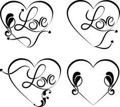 Výsledek obrázku pro tetování motivy srdce