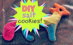 DIY salt cookies! by bear & lion mama, via Flickr  Summer decorations?