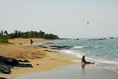 Now that's a beach. Anaeho'omalu - A-Bay on the Kohala Coast, Big Island, Hawaii Kohala Coast, Big Island Hawaii, Hawaiian Islands, Volcano, Cottage, Vacation, Mountains, Beach, Water