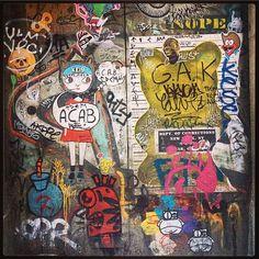 Graffiti in Barcelona