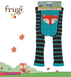 Frugi Footless Fox Leggings