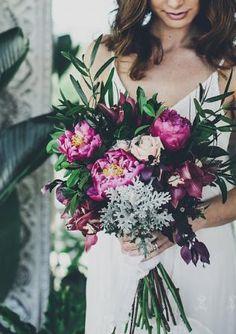 WHITE Magazine. Boholuxe styled shoot. Floral style. Boho Bride.