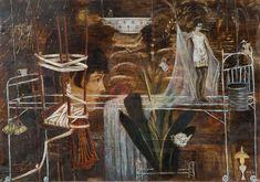 Works on Paper - Seraphine Pick - Australian Art Auction Records Monochromatic Color Scheme, Colour Schemes, Creation Myth, Nz Art, Maori Art, Australian Art, Art Auction, Artist Painting, Surrealism