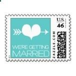 Heartfelt - Were Getting Married - Blue Stamps