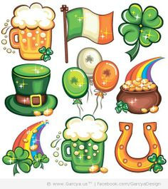 St. Patrick's Day Free Vector Icons - Web Design Blog