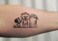 Cute Halloween Tattoos   ... tattoo to celebrate his birthday i have never actually seen a tattoo