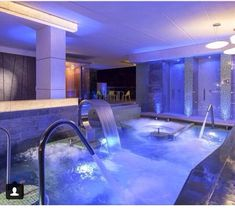 Spa Spa The post Spa appeared first on Site Title. Dream House Interior, Luxury Homes Dream Houses, Dream Home Design, Modern House Design, My Dream Home, Dream Bathrooms, Dream Rooms, Home Spa Room, Luxury Pools