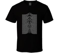 Joy Division Unknown Pleasures Album Music T Shirt