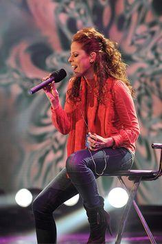 Pastora Soler, en la gala 'Música para mi madre'