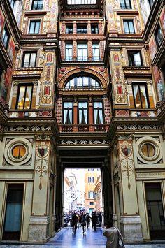 Arcade - Rome, Italy, by naromeel