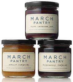 March Pantry jars