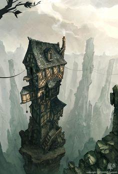 Une inspiration pour la maison de Rosalie sur son ile ?