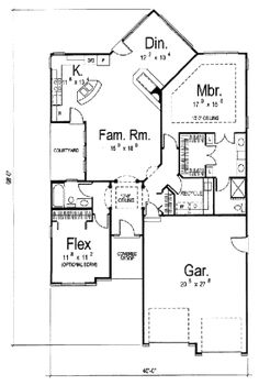 COOL house plans offers a unique variety of professionally designed home plans with floor plans by accredited home designers. Styles include country house plans, colonial, Victorian, European, and ranch. Blueprints for small to luxury home styles. Best House Plans, Country House Plans, Dream House Plans, Small House Plans, House Floor Plans, Cottage Plan, Cottage House, Cottage Ideas, Monster House Plans