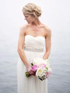 16 Simple Beach Wedding Dresses | TheKnot.com