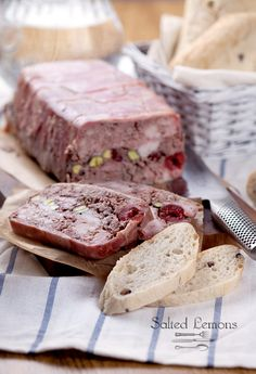 Terrine with rabbit meat and liver
