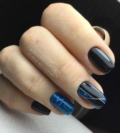 50 Beautiful Stylish and Trendy Nail Art Designs for Christmas Latest Nail Art, Trendy Nail Art, Stylish Nails, New Year's Nails, Hot Nails, Hair And Nails, Nailart, Manicure, Gel Nagel Design