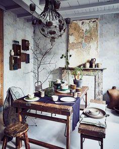 vintage-eethoek-hout