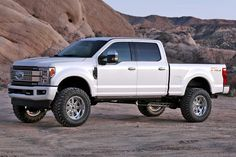 "Ford Super Duty equipped with a Fabtech 6"" Lift Kit Ford Bronco, New Ford F150, Ford F150 Raptor, Ford Super Duty, Cars For Sale, Used Ford, Lift Kits, 2019 Ford"