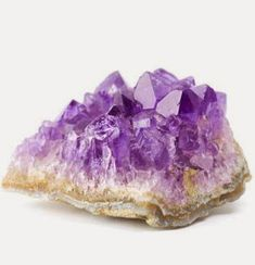 Raw amethyst stone Healing, Abundance and Prosperity with Crystals
