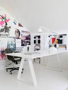 Home Office Inspiration / Inspiration Bureau à la maison