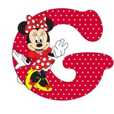 Minnie and the letter G