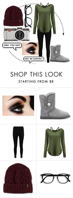 """Naughty ;)"" by that-little-black-dress ❤ liked on Polyvore featuring UGG, Boohoo, Dr. Martens and Leica"