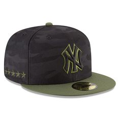 new product 78ba4 e689c Men s New York Yankees New Era Black 2018 Memorial Day On-Field 59FIFTY  Fitted Hat 71 4 500