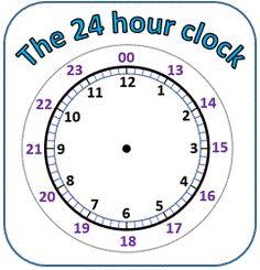 24 hour clock worksheets pdf