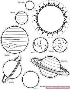 Solar System Craft - The Crafting Chicks Solar System For Kids, Solar System Projects, Science For Kids, Art For Kids, Crafts For Kids, Space Party, Space Theme, Science Projects, School Projects