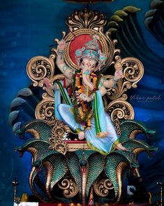 Make this Ganesha Chathurthi 2020 special with rituals and ceremonies. Lord Ganesha is a powerful god that removes Hurdles, grants Wealth, Knowledge & Wisdom. Ganesh Pic, Shri Ganesh Images, Ganesh Lord, Ganesha Pictures, Jai Ganesh, Baby Ganesha, Ganesha Art, Ganesh Idol, Shiva Art