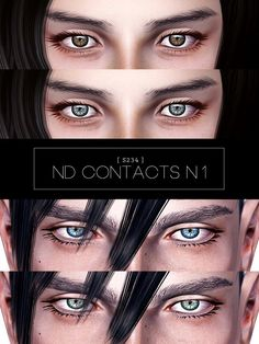 ND Contacts n1 - Sims 3 Downloads CC Caboodle
