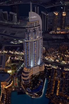 One of my favourite hotels in Dubai - The Address Downtown