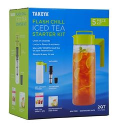 Takeya Flash Chill Iced Tea Starter Kit * For more information, visit image link.Note:It is affiliate link to Amazon.