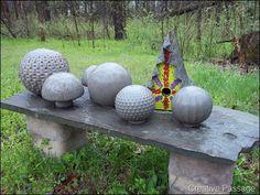 Cement Garden Balls...how to make