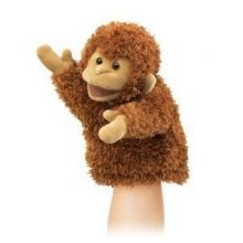 Little Monkey Puppet Classic, velvety-soft Monkey finger puppet is perfectly palm-sized and simply adorable! Sock Puppets, Finger Puppets, Puppet Toys, Small Monkey, Monkey Puppet, Toy Theatre, Little Monkeys, Kids Toys, Plush