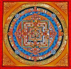 Kalachakra mandala As we purify our karma through intense practice we start to experience liberation.