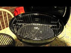 Craycort cast iron grate upgrade video for the Weber Jumbo Joe.