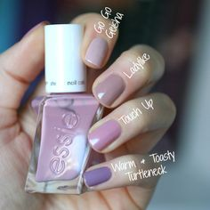 I feel like mauve has been the polish of the season. I was obsessed with it last Fall and Winter and wrote a post  showcasing some Essie...