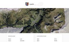 Screenshot der Gemeinde Lech, Vorarlberg, auf Similio, dem mehrsprachigen Geographie- & Informationsportal über Österreich. Geographie, Wirtschaftskunde, Statistik Portal, Desktop Screenshot, Statistics, Communities Unit, Economics, Alps, Things To Do, Landscape, Pictures