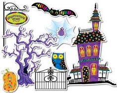 Poppin' Patterns Spooktacular Bulletin Board Set by Creative Teaching Press. Get this product and many more at The Pointless Pencil