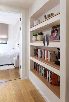 Pareti, mobili e librerie in cartongesso, i salvaspazio per la casa - Giulia Grillo Architetto | Art Home