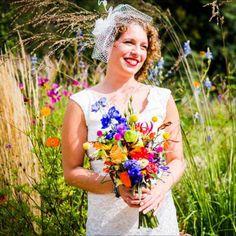 bruidsboeket veldbloemen - Google zoeken