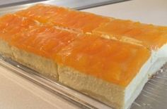 Quark - tangerine - sheet cake, a good recipe with a picture from the cake category. 82 ratings: Ø Tags: baking, cake food ideen ideas food food food Italian Pastries, Italian Desserts, Italian Dishes, Italian Recipes, Cooking On The Grill, Cooking Time, Types Of Sandwiches, Italy Food, Food Cakes