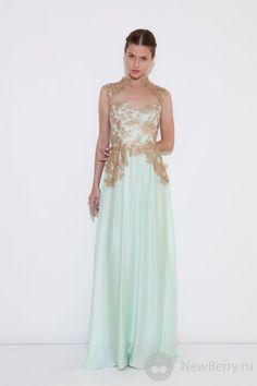 Patricia Bonaldi Haute Couture 2013 / menta dress