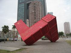 Love container art. http://www.out-backstorage.com