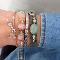 ALMOST WEEKEND || Zo'n mooie combinatie kan je maken met de nieuwe armbandjes ♡ #happyfriday