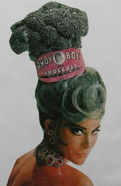 1960s MOD FASHION PHOTOGRAPHY ADVERTISEMENT ANDY BOY BROCCOLI by Christian Montone, via Flickr