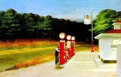 Gas. Edward Hopper